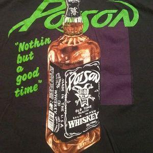 Poison 1986 Band Shirt